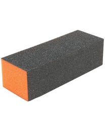 ForPro Sanitizable Orange Block 100/180 Grit 15-Count
