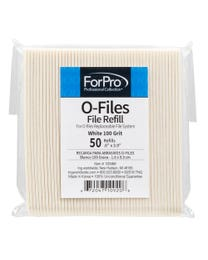 ForPro O-Files Replaceable File System Refills White 100 Grit 50-Count