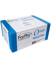 ForPro O-Files Wood Board Silver 100/180 Grit 100-Count