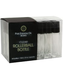 Clear Rollerball Bottles