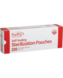 ForPro Basics Self-Sealing Sterilization Pouches 4000-Count (Case of 20 Boxes – 200 Pouches)