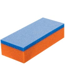 Expert Sanding Block, 100 Grit Orange/180 Grit Blue, 500-Count