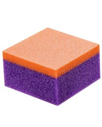 Expert Mini Sanding Block, 80 Grit Purple/100 Grit Orange, 1000-Count