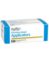 ForPro Premium Wood Applicators Petite 500-Count