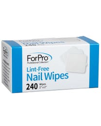 "ForPro Lint-Free Nail Wipes 2"" x 2"" 240-Count"