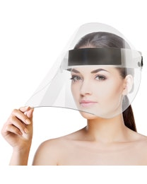 ForPro Reusable Polycarbonate Tilt Faceshield