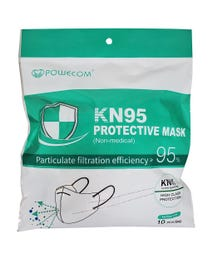 KN95 Protective Mask - FDA Approved, 10 Masks