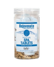 ForPro Rejuvenate Spa Foot Bath Pedicure Spa Tablets 40-Count
