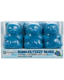 Ginger Lily Farms Botanicals Bubbles Fizzy Bears Blueberry 6-Count