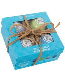 Ginger Lily Farms Botanicals Rejuvenate Fizzy Bomb Gift Set 4-Count
