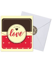 Ginger Lily Farms Botanicals Kudos! Love You Are My Love, Spinning Bath Bomb and Greeting Card