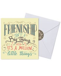 Ginger Lily Farms Botanicals Kudos! Friendship Million Little Things