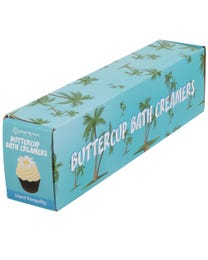 Ginger Lily Farms Botanicals Buttercup Bath Creamers Island Tranquility, Turns Bath Creamy, 2.8 Ounces Each, 6-Count