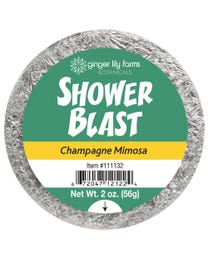 Ginger Lily Farms Botanicals Shower Blast Champagne Mimosa, Makes Taking a Shower a Totally Sensory Experience, 2 Ounces Each, 6-Count