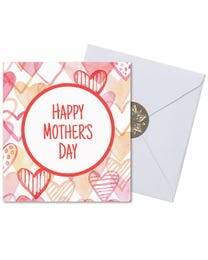 Ginger Lily Farms Botanicals Kudos! Mother's Day Heart, Spinning Bath Bomb and Greeting Card