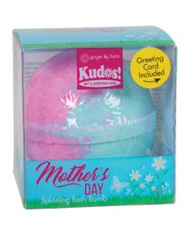 Ginger Lily Farms Botanicals Kudos! Mother's Day Meadow, Spinning Bath Bomb and Greeting Card