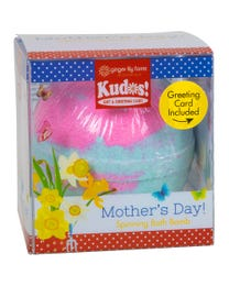 Ginger Lily Farms Botanicals Kudos! Mother's Day Butterfly, Spinning Bath Bomb and Greeting Card