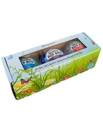 Ginger Lily Farms Botanicals Kudos! Pure Delight Spinning Bath Bomb Set, 3-Count