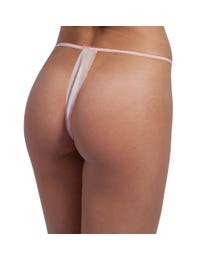 ForPro Thong Panty White 50-Count