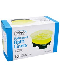 Pedi Guard Bath Liners 100-Count