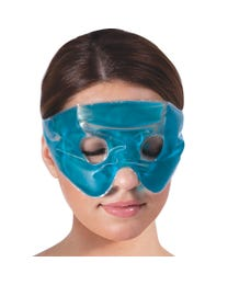 "Beauty Mask Works Relaxing Eye Mask, Gel Mask with Adjustable Velcro Strap, Helps Relieve Pressure from Stress, Headaches, Sinuses, Tiredness and Sore Eyes, for Cold and Warm Use, 6 Ounces, 4"" x 8"""