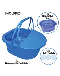 Rejuvenate Spa Foot Bath - Ocean Blue
