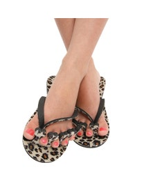 Little Diva Pedi-Pack, 6-Piece Pedicure Kit, Leopard Print