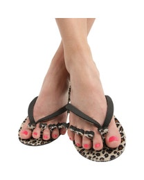 Diva Pedi-Pack, 6-Piece Pedicure Kit, Leopard Print