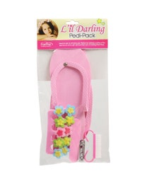Lil Darling Pedi-Pack, 6-Piece Pedicure Kit, Pink