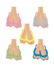Fold Up Pedi Slippers Assorted 360-pr.
