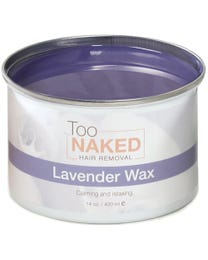 Too Naked Lavender Wax 14 Ounces
