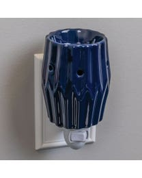 Blue Agave Ceramic Plug-In Wax Melter & Essential Oil Diffuser