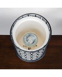 Aurora Ceramic/Metal Halogen Wax Melter