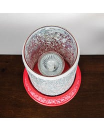 Diamonds Forever Mosaic Halogen Wax Melter
