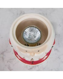 Santa's Coming to Town Ceramic Halogen Wax Melter