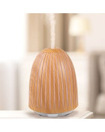 "Charisma LED Ultrasonic Aroma Diffuser, Diffuses Essential Oils and Cool Mist, Seven LED Light Colors, Stress Relieving, Air Purifying, 4.75"" Round x 6.5"" H"