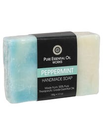 Handmade Soap Peppermint 3.3 oz.