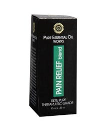Pure Essential Oil Works Pain Relief Blend .33 Ounces