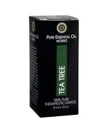 Pure Essential Oil Works Tea Tree Oil .33 Ounces