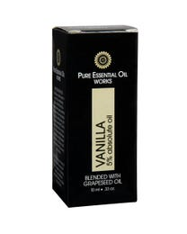 Pure Essential Oil Works Vanilla 5% Absolute Oil .33 Ounces