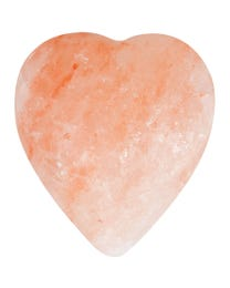 Pure Himalayan Salt Works Massage Stone Heart