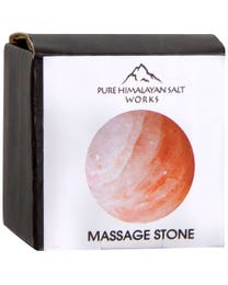 "Pure Himalayan Salt Works Round Ball Massage Stone 2"" Round"