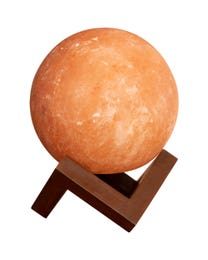 "Pure Himalayan Salt Works Illumination Sphere, 6"" L x 6"" W x 8"" H"