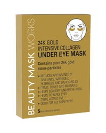 Beauty Mask Works 24K Gold Intensive Collagen Under Eye Mask 5-Pair