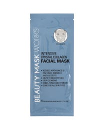 Beauty Mask Works Intensive Crystal Collagen Facial Mask 3-Count