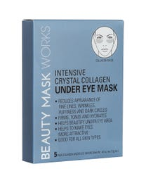 Beauty Mask Works Intensive Crystal Collagen Under Eye Mask 5-Pair