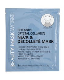 Beauty Mask Works Intensive Crystal Collagen Neck & Décolleté Mask 3-Count