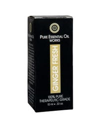 Pure Essential Oil Works Ginger Fresh Oil .33 Ounces