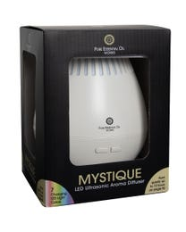 Pure Essential Oil Works Mystique LED Ultrasonic Aroma Diffuser