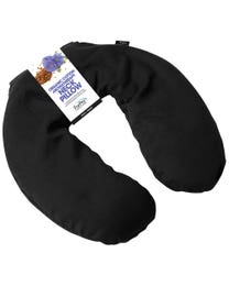 ForPro Organic Cotton Aromatherapy Neck Pillow Black
